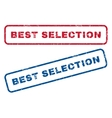 Best Selection Rubber Stamps vector image vector image