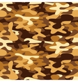 Camouflage for disguise in the desert seamless vector image