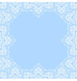 decorative frame with copy space vector image
