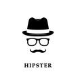gentlemen or hipster vector image vector image