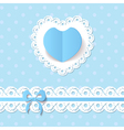 baby shower for a boy vector image vector image