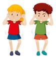 children shmoney dance move vector image vector image