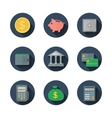 Finance icon vector image vector image