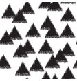 infinite design with triangles vector image vector image
