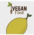vegan cooking pot nutrition food vector image