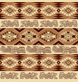 abstract geometric seamless pattern aztec vector image