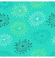 Decorative stylish spring seamless floral pattern vector image vector image