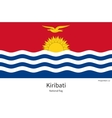 National flag of Kiribati with correct proportions vector image vector image