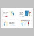 orthopedics concilium healthcare landing page vector image vector image