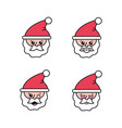 set merry christmas celebration to holiday vector image vector image
