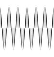 set of waves with augmented amplitude vector image vector image