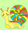 snail 1 vector image vector image