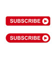 subscribe icon eps10 vector image vector image