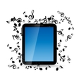Mobile Music Phone vector image