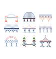 Bridge set architecture humpback city arched road