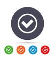 check mark sign icon yes circle symbol