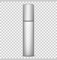 cosmetic long bottle template vector image