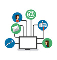 email concept vector image