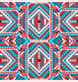 ethnic tribal colorful seamless pattern aztec vector image vector image