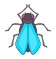 Fly icon cartoon style vector image