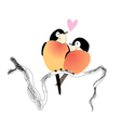 funny bird lovers vector image vector image