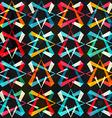 spectrum geometric seamless pattern vector image vector image