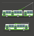 trolleybus vector image