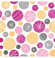 Abstract textured bubbles seamless pattern vector image vector image
