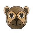 bear cute cartoon vector image vector image