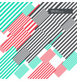 colorful abstract stripes background modern design vector image vector image