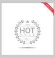 hot sale icon vector image