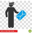 Postman Eps Icon vector image vector image