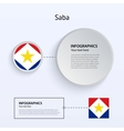 Saba Country Set of Banners vector image vector image