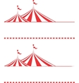 tent borders vector image vector image