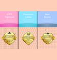 100 premium and best brand vector image