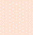 baby background polka dot pattern with small vector image