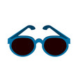 blue frame sunglasses icon image vector image vector image
