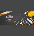 happy labor day lets celebrate sale vector image vector image