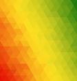 Reggae geometric vector image vector image