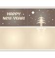2012 origami postcard vector image vector image