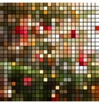 Bright colorful mosaic background vector image vector image