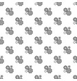 business gear pattern seamless vector image