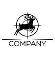 Deer hunting logo