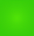 Halftone polka dot pattern background template vector image
