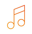 note music volume web application online vector image