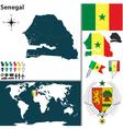 Senegal map