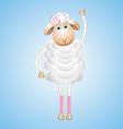 Sheep character vector image
