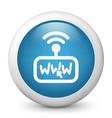 web connection click icon vector image vector image
