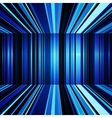 Abstract blue and white warped stripes background vector image vector image