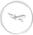 airliner vector image